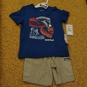 Boys Timberland 2 Piece Set 3T